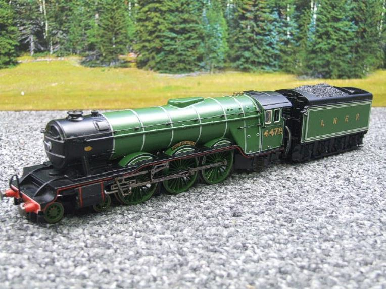 "Hornby Railway Margate Works OO Gauge LNER A3 Class ""Flying Scotsman"" R/N 4472 Live Steam Boxed image 17"