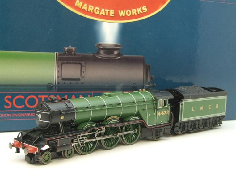 "Hornby Railway Margate Works OO Gauge LNER A3 Class ""Flying Scotsman"" R/N 4472 Live Steam Boxed image 20"