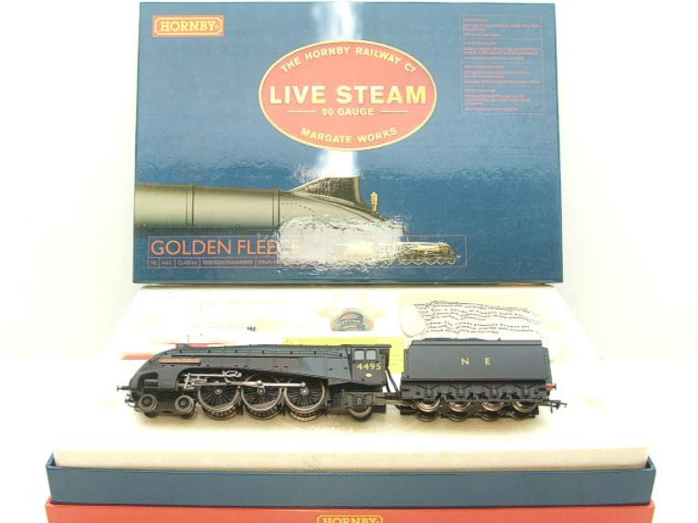 "The Hornby Railway Comp Margate Works 00 Gauge NE class A4 4-6-2 ""Golden Fleece"" Live Steam Boxed image 19"