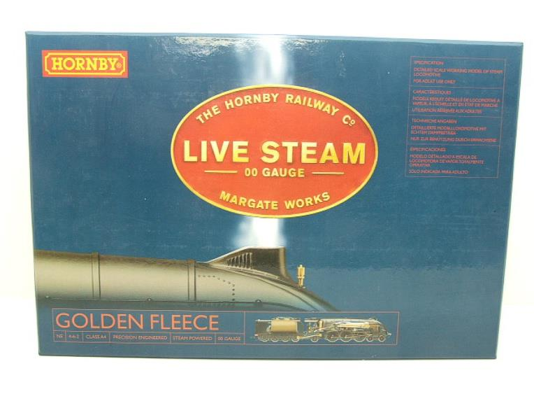 "The Hornby Railway Comp Margate Works 00 Gauge NE class A4 4-6-2 ""Golden Fleece"" Live Steam Boxed image 22"