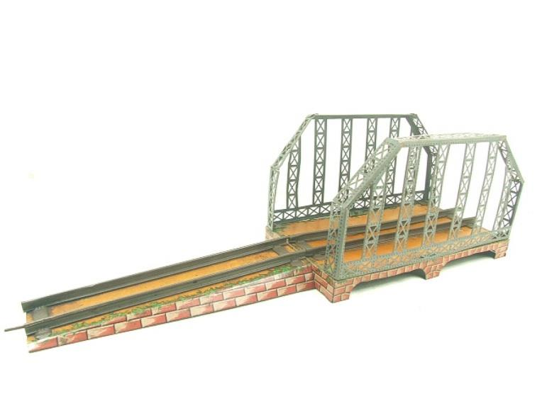 Powered Toys Marklin O Gauge Clockwork Girder Bridge