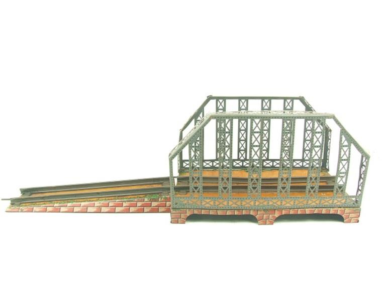 Marklin O Gauge Clockwork Girder Bridge Toys, Hobbies Steam Powered