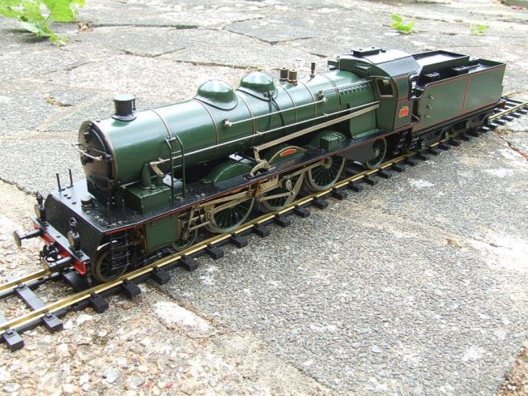 Gauge 1 Aster PLM 231A Pacific 4-6-2 Loco & Tender RN 6101 Live Steam Bxd image 15