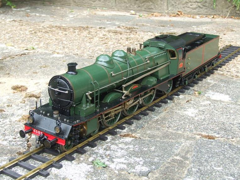 Gauge 1 Aster PLM 231A Pacific 4-6-2 Loco & Tender RN 6101 Live Steam Bxd image 19
