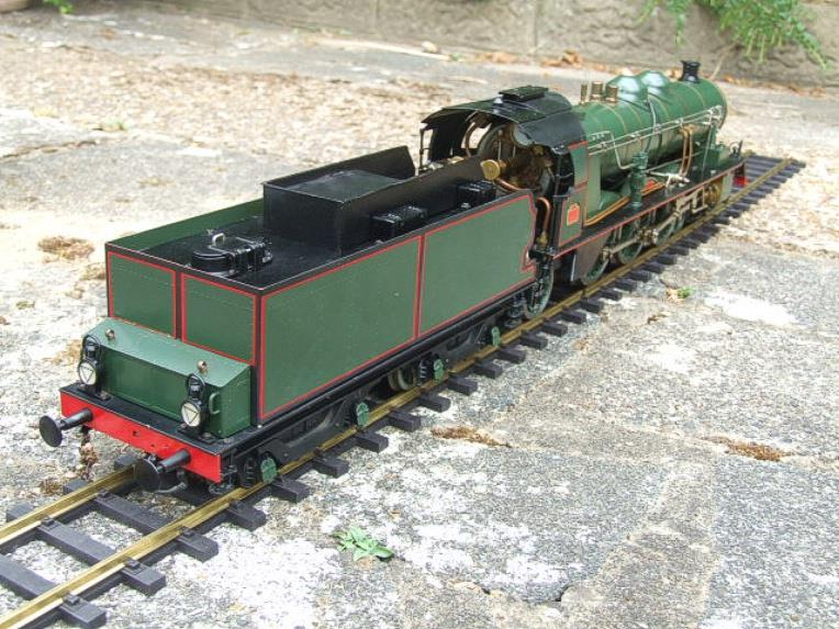 Gauge 1 Aster PLM 231A Pacific 4-6-2 Loco & Tender RN 6101 Live Steam Bxd image 21