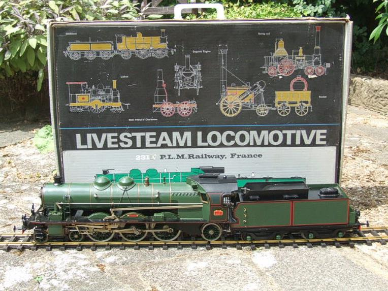 Gauge 1 Aster PLM 231A Pacific 4-6-2 Loco & Tender RN 6101 Live Steam Bxd image 22