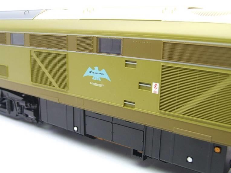 "Heljan O Gauge 5350 BR Class 53 ""Falcon Crest"" Diesel Loco D0280 Electric Boxed image 12"