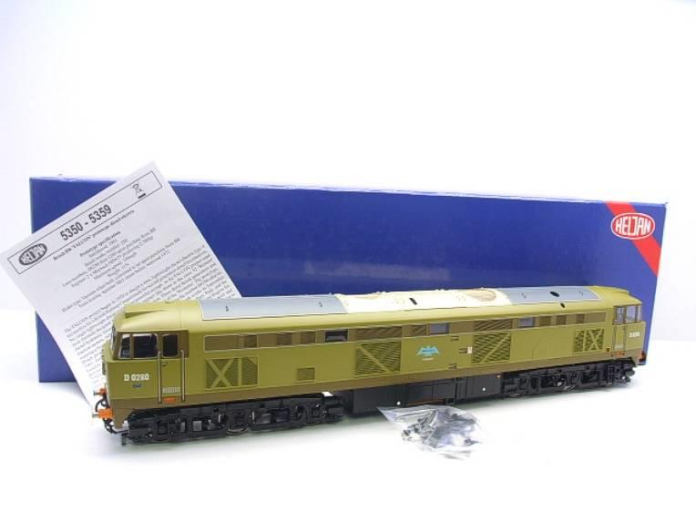 "Heljan O Gauge 5350 BR Class 53 ""Falcon Crest"" Diesel Loco D0280 Electric Boxed image 20"