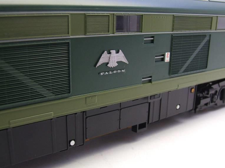 "Heljan O Gauge Item 5351 BR Green Class 53 GSYP ""Falcon"" Diesel Loco D0280 Electric Bxd image 11"