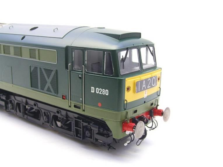 "Heljan O Gauge Item 5351 BR Green Class 53 GSYP ""Falcon"" Diesel Loco D0280 Electric Bxd image 12"