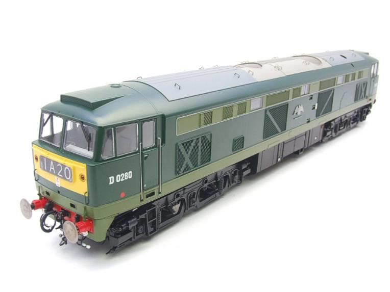 "Heljan O Gauge Item 5351 BR Green Class 53 GSYP ""Falcon"" Diesel Loco D0280 Electric Bxd image 13"