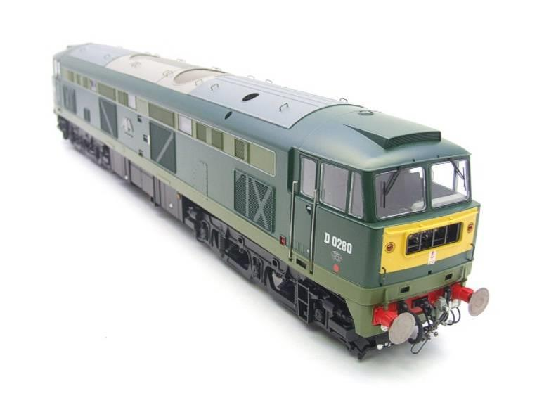 "Heljan O Gauge Item 5351 BR Green Class 53 GSYP ""Falcon"" Diesel Loco D0280 Electric Bxd image 14"