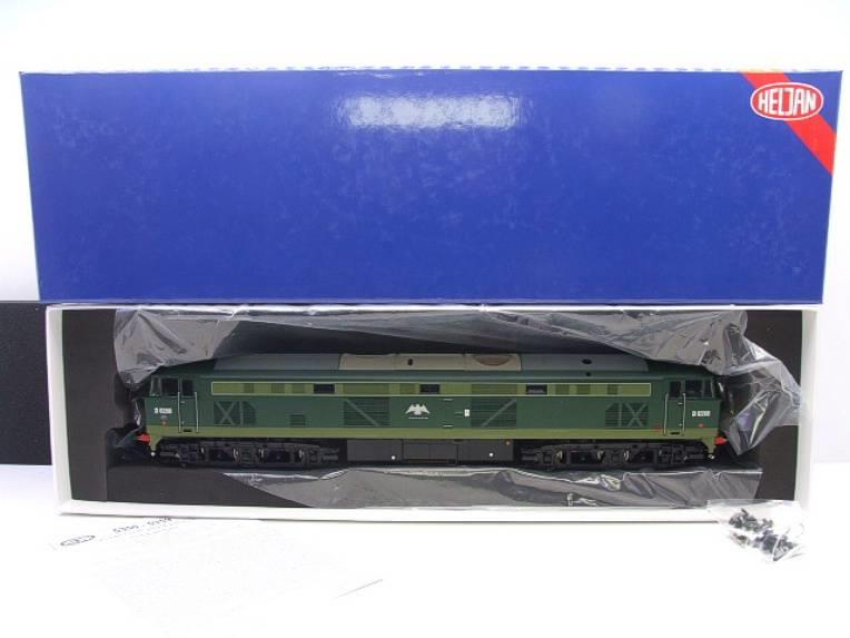 "Heljan O Gauge Item 5351 BR Green Class 53 GSYP ""Falcon"" Diesel Loco D0280 Electric Bxd image 18"