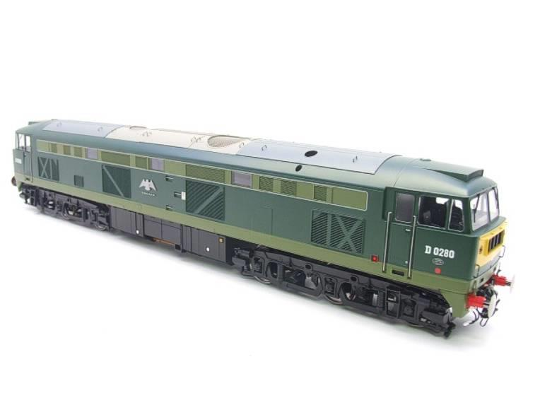 "Heljan O Gauge Item 5351 BR Green Class 53 GSYP ""Falcon"" Diesel Loco D0280 Electric Bxd image 19"