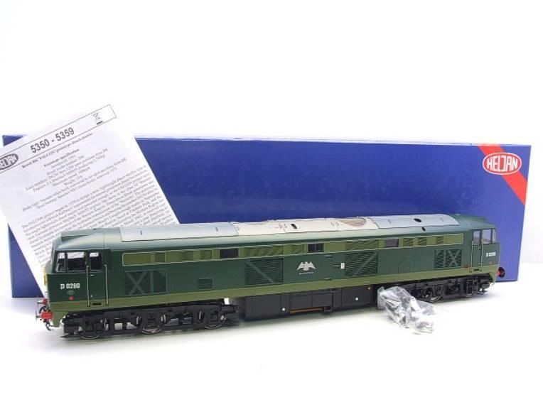 "Heljan O Gauge Item 5351 BR Green Class 53 GSYP ""Falcon"" Diesel Loco D0280 Electric Bxd image 20"