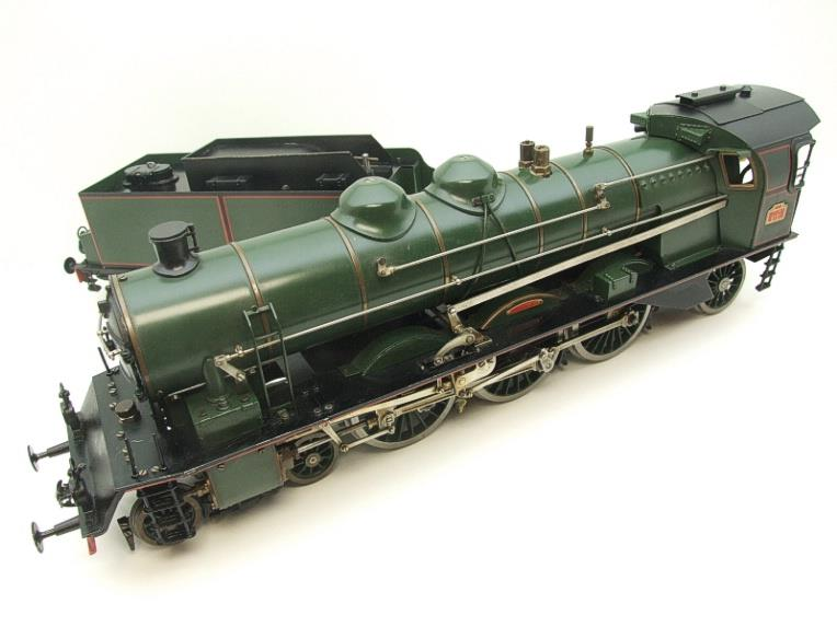 Gauge 1 Aster Green French PLM 231A Pacific 4-6-2 Loco & Tender R/N 6101 Live Steam Boxed image 11