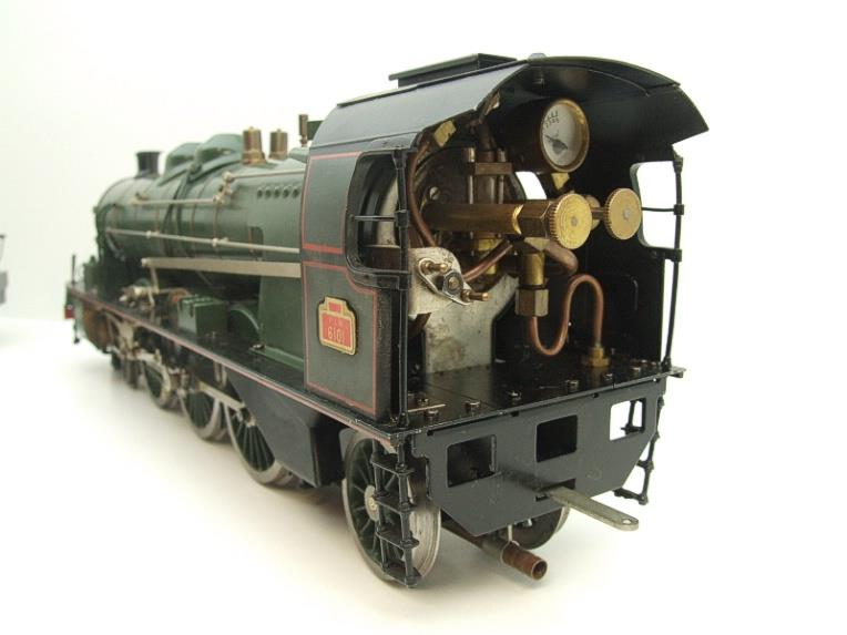 Gauge 1 Aster Green French PLM 231A Pacific 4-6-2 Loco & Tender R/N 6101 Live Steam Boxed image 12