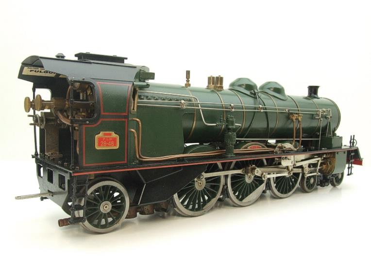 Gauge 1 Aster Green French PLM 231A Pacific 4-6-2 Loco & Tender R/N 6101 Live Steam Boxed image 14
