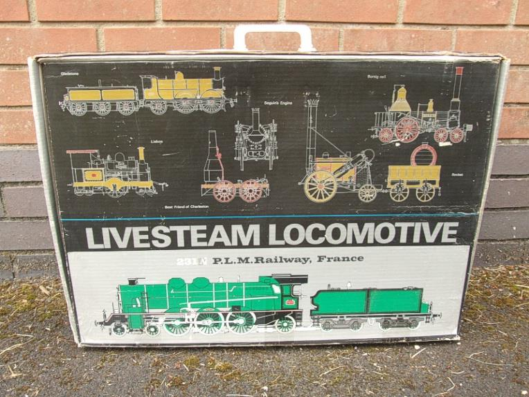 Gauge 1 Aster Green French PLM 231A Pacific 4-6-2 Loco & Tender R/N 6101 Live Steam Boxed image 20