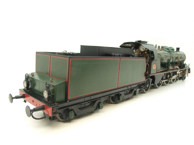 Gauge 1 Aster Green French PLM 231A Pacific 4-6-2 Loco & Tender R/N 6101 Live Steam Boxed image 21
