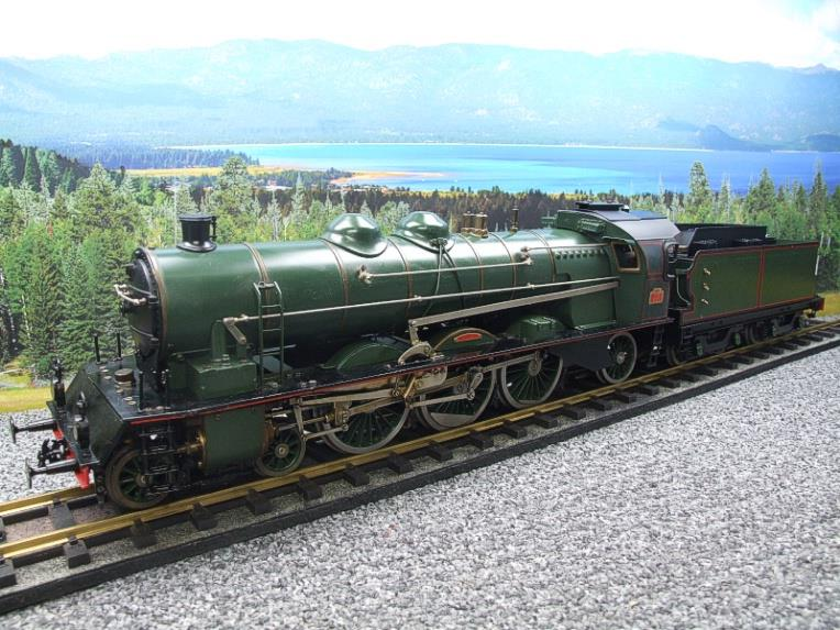 Gauge 1 Aster Green French PLM 231A Pacific 4-6-2 Loco & Tender R/N 6101 Live Steam Boxed image 22