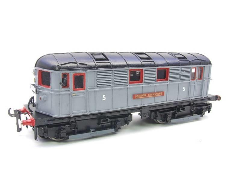 Raylo O Gauge RE11 Metro Vickers Bo-Bo Locotive London Transport Goods Set Electric 3 Rail Boxed image 11