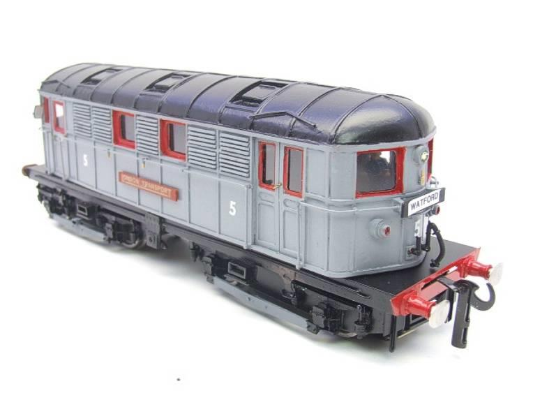Raylo O Gauge RE11 Metro Vickers Bo-Bo Locotive London Transport Goods Set Electric 3 Rail Boxed image 13