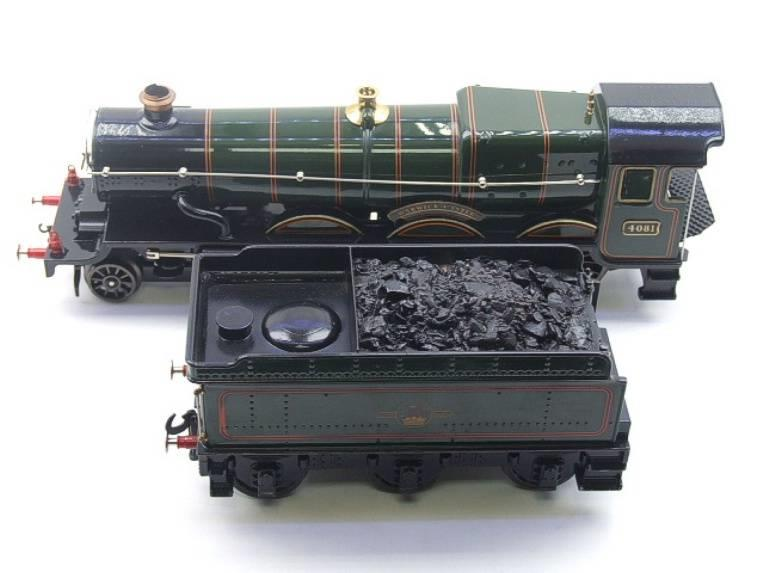 "Ace Trains O Gauge E7 BR Castle Class ""Warwick Castle"" R/N 4081 Electric 3 Rail Boxed image 11"