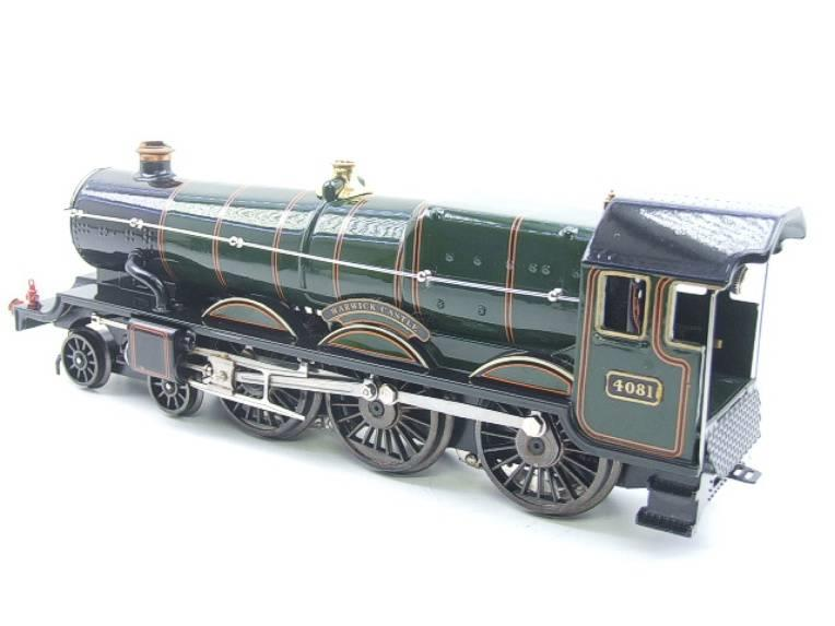 "Ace Trains O Gauge E7 BR Castle Class ""Warwick Castle"" R/N 4081 Electric 3 Rail Boxed image 12"
