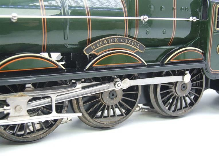 "Ace Trains O Gauge E7 BR Castle Class ""Warwick Castle"" R/N 4081 Electric 3 Rail Boxed image 14"