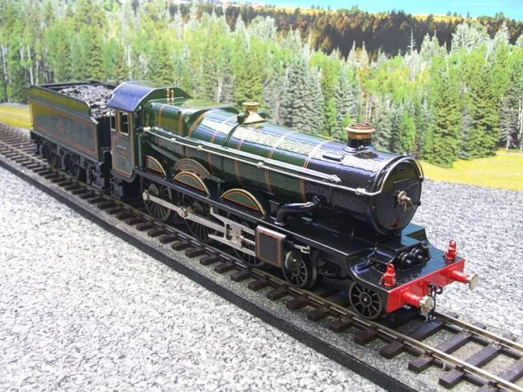 "Ace Trains O Gauge E7 BR Castle Class ""Warwick Castle"" R/N 4081 Electric 3 Rail Boxed image 19"