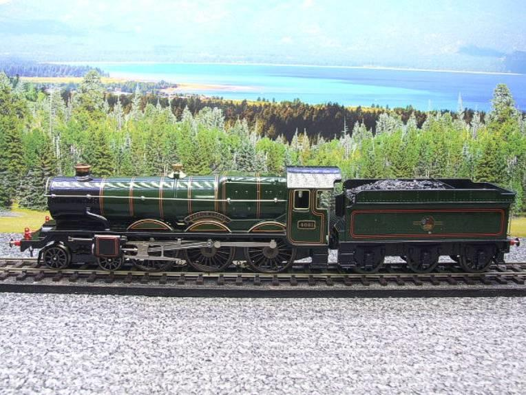 "Ace Trains O Gauge E7 BR Castle Class ""Warwick Castle"" R/N 4081 Electric 3 Rail Boxed image 20"