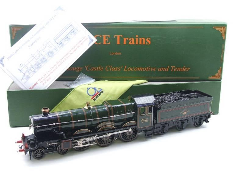 "Ace Trains O Gauge E7 BR Castle Class ""Warwick Castle"" R/N 4081 Electric 3 Rail Boxed image 22"