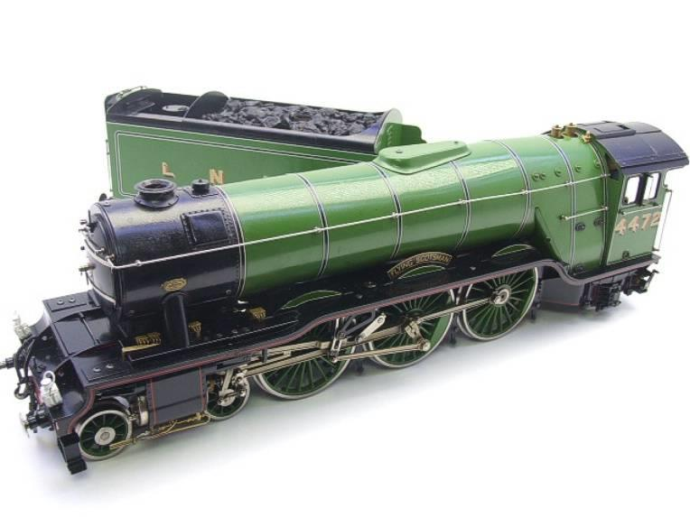 "Gauge 1 Aster LNER A3 Class Pacific ""Flying Scotsman"" R/N 4472 Live Steam image 11"