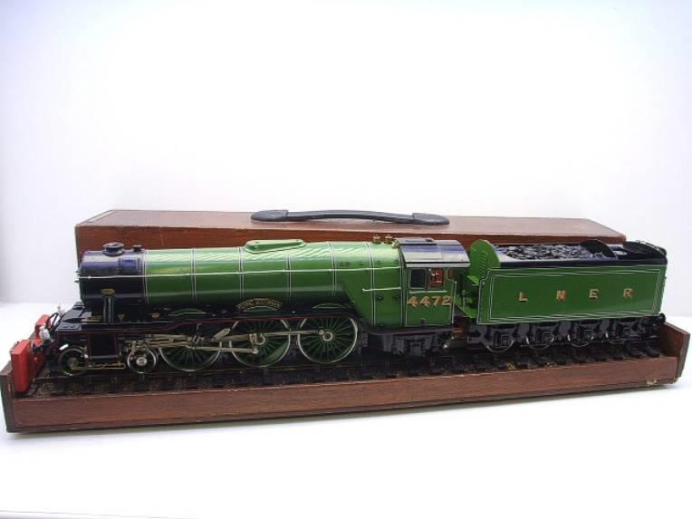 "Gauge 1 Aster LNER A3 Class Pacific ""Flying Scotsman"" R/N 4472 Live Steam image 20"