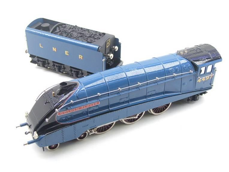 "Ace Trains O Gauge E4 A4 Pacific LNER Blue ""Golden Plover"" R/N 4497 Electric 3 Rail Boxed image 11"