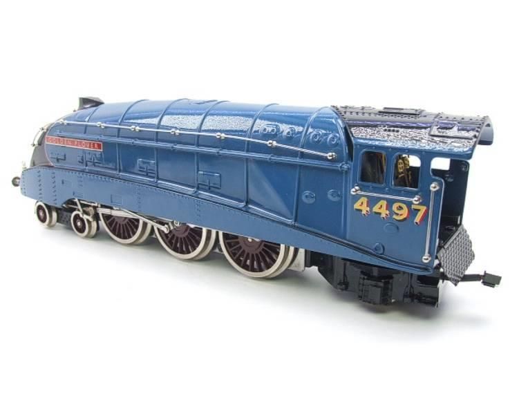 "Ace Trains O Gauge E4 A4 Pacific LNER Blue ""Golden Plover"" R/N 4497 Electric 3 Rail Boxed image 12"