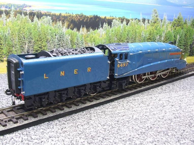 "Ace Trains O Gauge E4 A4 Pacific LNER Blue ""Golden Plover"" R/N 4497 Electric 3 Rail Boxed image 21"