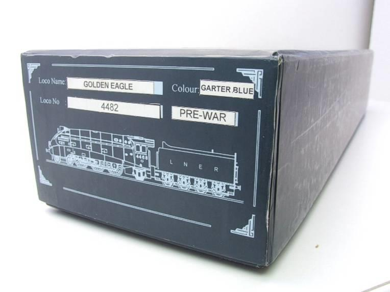 "Ace Trains O Gauge E4 LNER A4 Pacific ""Golden Eagle"" R/N 4482 Electric 3 Rail Boxed image 17"