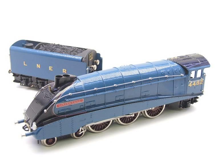 "Ace Trains O Gauge E4 LNER A4 Pacific ""Golden Eagle"" R/N 4482 Electric 3 Rail Boxed image 20"