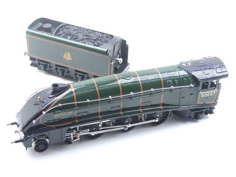"Ace Trains E4 A4 Pacific BR ""Merlin"" R/N 60027 Electric 3 Rail Boxed image 11"