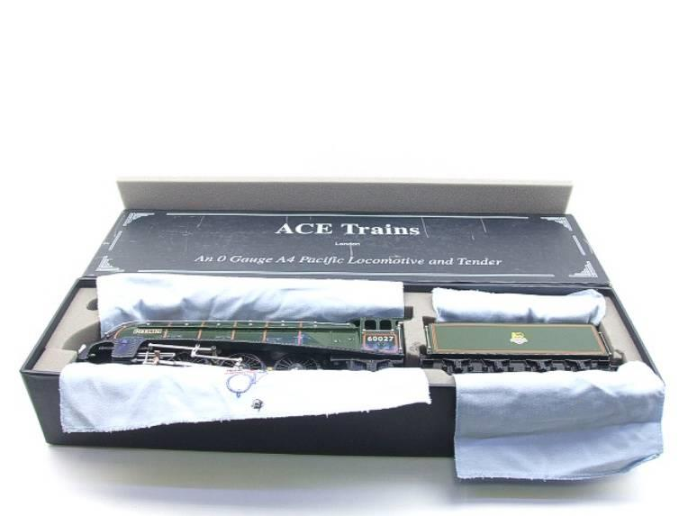 "Ace Trains E4 A4 Pacific BR ""Merlin"" R/N 60027 Electric 3 Rail Boxed image 19"