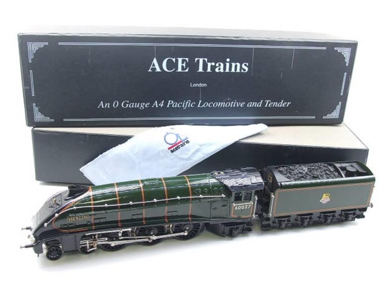 "Ace Trains E4 A4 Pacific BR ""Merlin"" R/N 60027 Electric 3 Rail Boxed image 22"