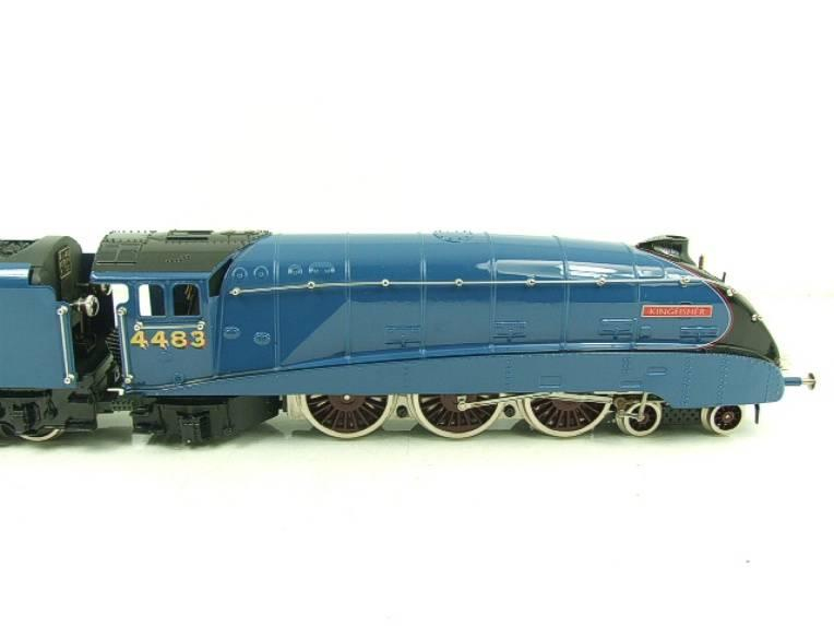 "Ace Trains O Gauge A4 Pacific LNER Garter Blue ""Kingfisher"" RN 4483 Electric Bxd image 13"
