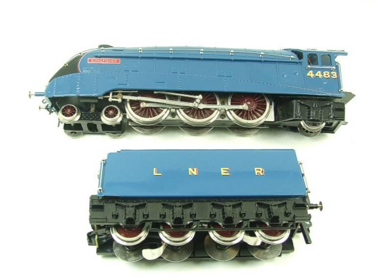"Ace Trains O Gauge A4 Pacific LNER Garter Blue ""Kingfisher"" RN 4483 Electric Bxd image 14"