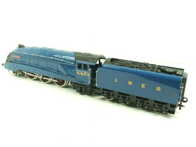 "Ace Trains O Gauge A4 Pacific LNER Garter Blue ""Kingfisher"" RN 4483 Electric Bxd image 18"