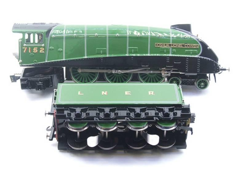 "Ace Trains O Gauge E4 A4 Pacific LNER Green ""Joshua Lionel Cowen"" R/N 7152 Electric 3 Rail Boxed image 12"