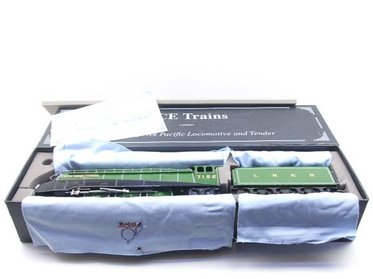 "Ace Trains O Gauge E4 A4 Pacific LNER Green ""Joshua Lionel Cowen"" R/N 7152 Electric 3 Rail Boxed image 15"