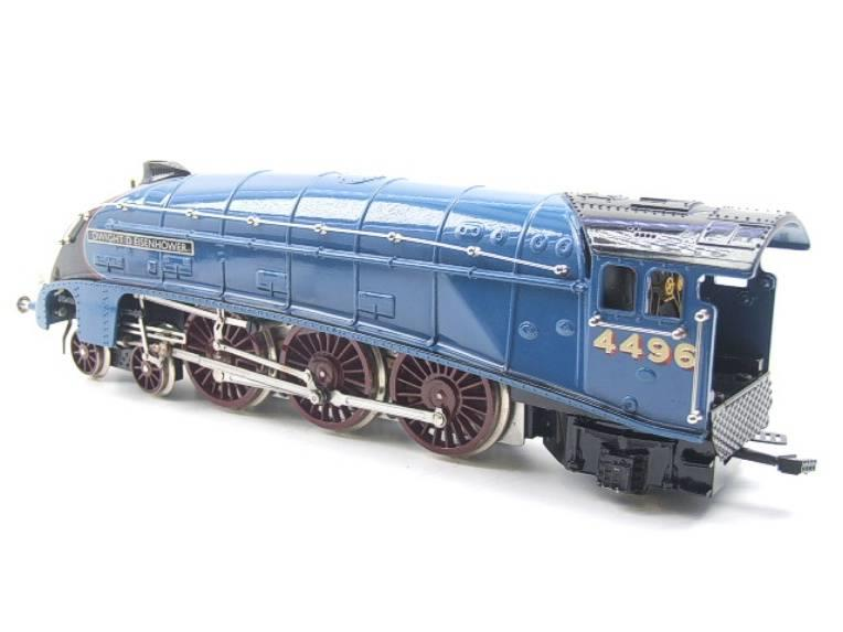 "Ace Trains O Gauge E4 A4 Pacific LNER Blue ""Dwight D Eisenhower"" R/N 4496 Elec 3 Rail Boxed image 11"
