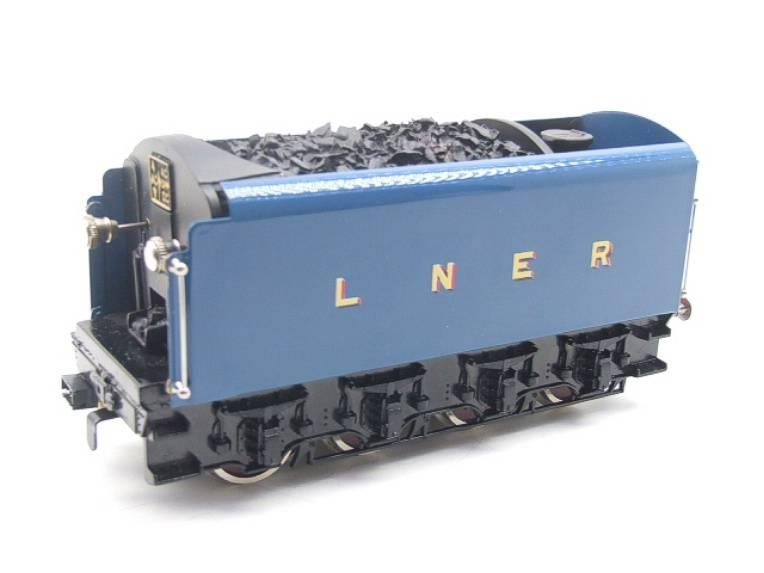 "Ace Trains O Gauge E4 A4 Pacific LNER Blue ""Dwight D Eisenhower"" R/N 4496 Elec 3 Rail Boxed image 12"